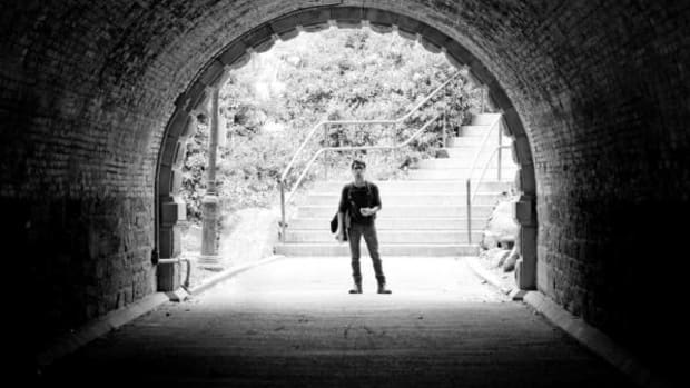 Simon Moya-Smith, ICTMN Culture Editor, above standing in Central Park in New York City, apocalyptically responds to a questionnaire about police brutality by the University of California-Berkeley.