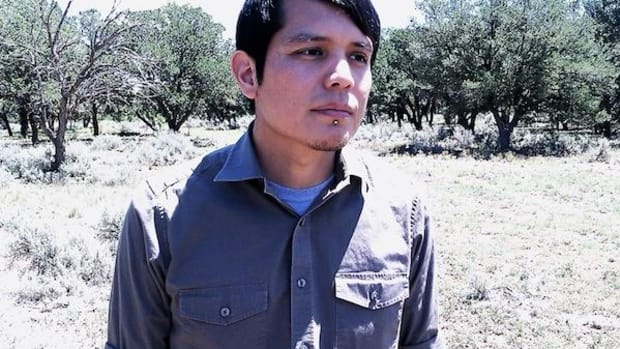 Orlando White, one of several Native poets at Native Innovation: Indigenous American Poetry in the 21st Century in New York City.