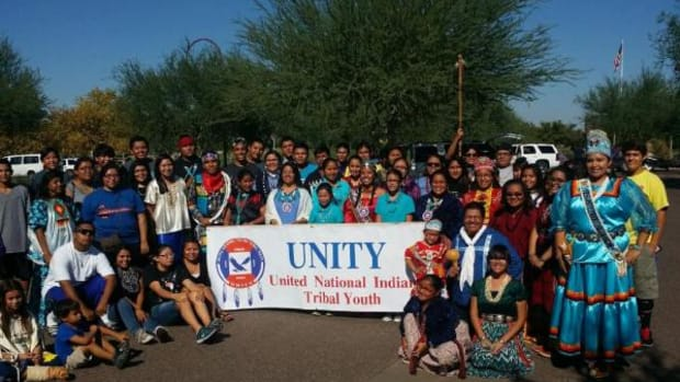 UNITY youth were selected to be Grand Marshals for the Native American Connections Parade in Phoenix, Arizona.
