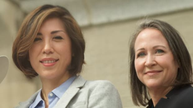 Making history again, Paulette Jordan has announced her running mate, Kristin Collum, creating an all-female ticket.
