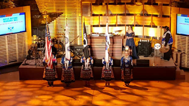 Native Nations Inaugural Ball honored tribal veterans and the US military4