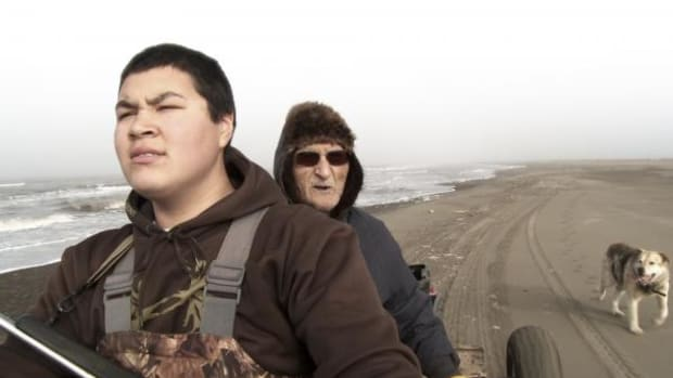 An image from Children of the Arctic by Director Nick Brandestini