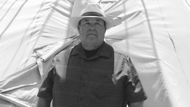 "Mescalero Apache President Danny Brueninger: ""Native representation needs to be sitting at the table with the president from a position of strength and respect."""