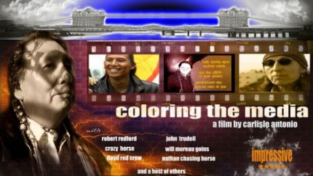 Antonio's 2008 documentary about how movies have shaped and distorted the identity of American Indians has played all over the world.