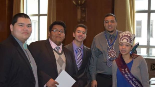 UNITY youth leaders pictured in the Senate Committee Hearing Room during their visit to Capitol Hill, part of the 2015 UNITY Midyear Conference in Washington D.C.