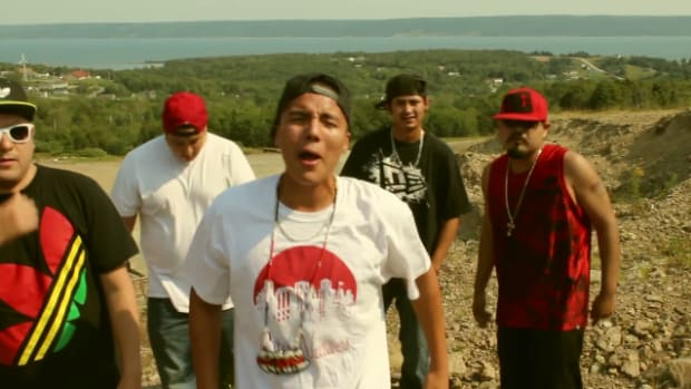 Gearl is an Indigenous Canadian / First Nations MC from the province of Nova Scotia. He is one of eight Native hip hop artists featured here.