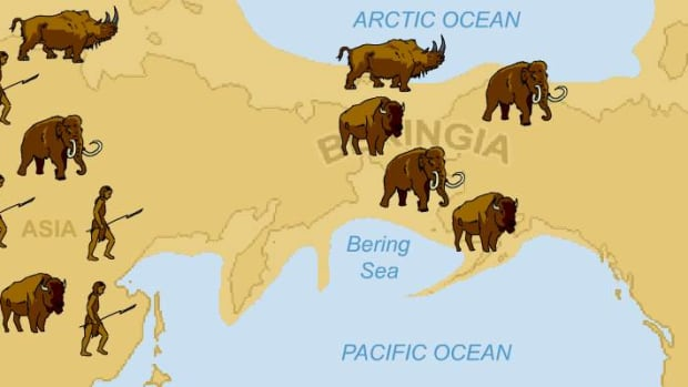 The Bering Land bridge. There is so much rigidity about creation stories on all sides. But what if they're all true?
