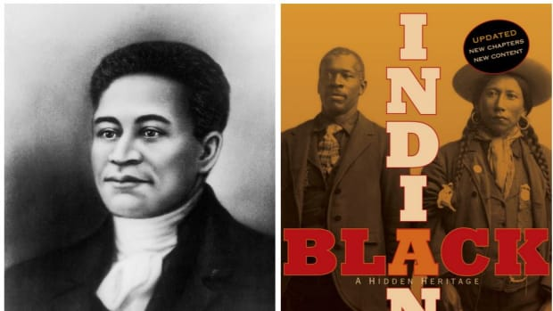 Crispus Attucks and the legacy of Black Indian History. Getty images - Simon and Schuster