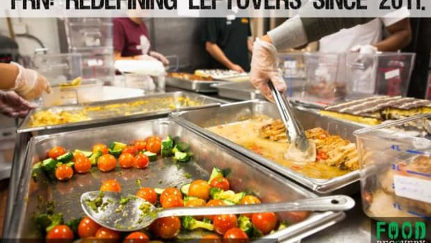 The Food Recovery Network wonders what you're doing with your leftovers.