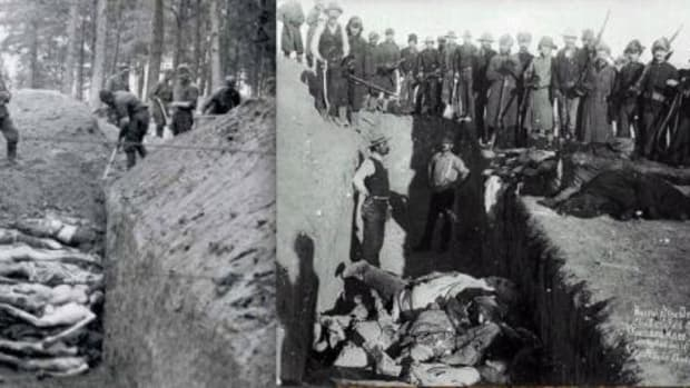 Hitler, Germany, concentration camps, U.S., Wounded Knee