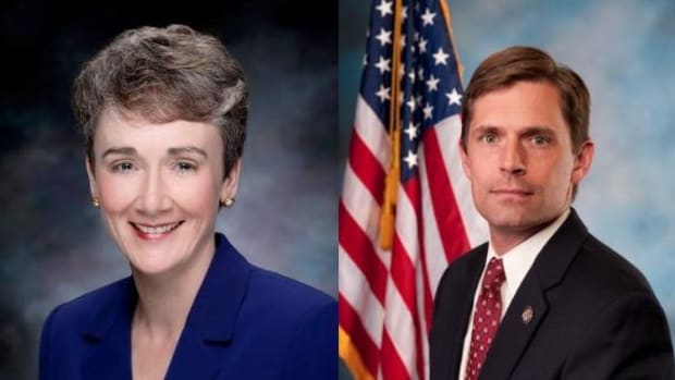 Polls vary in the race for New Mexico Senate between Republican Heather Wilson and Democrat Martin Heinrich.