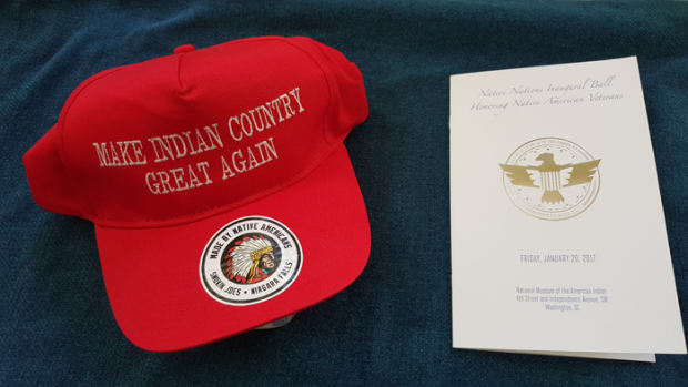 Jockeying for a position on Trump Administration - Make Indian Country Great Again Hat