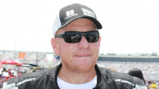 Derek White, Mohawk, is the first Native American to race in NASCAR.