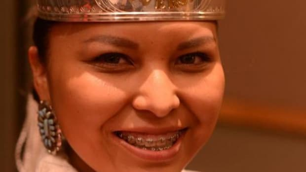 Public Administration major Glennis Yazzie of Chinle, Arizona was crowned Miss Navajo Technical University for the 2014-2015 academic year on September 30, 2014.