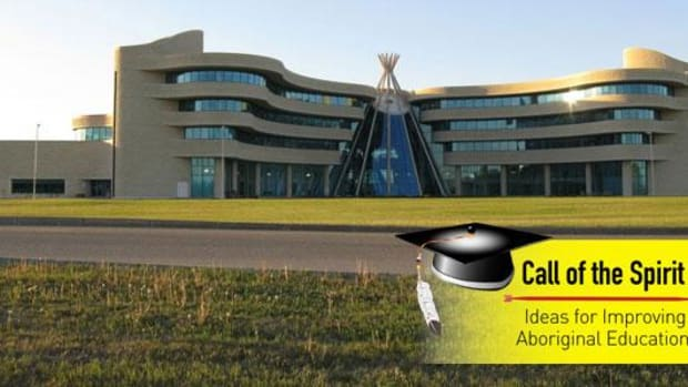First Nations University in Regina. The country's oldest, and so far only, full-service post-secondary institution designed from the ground up by and for Aboriginal objectives.
