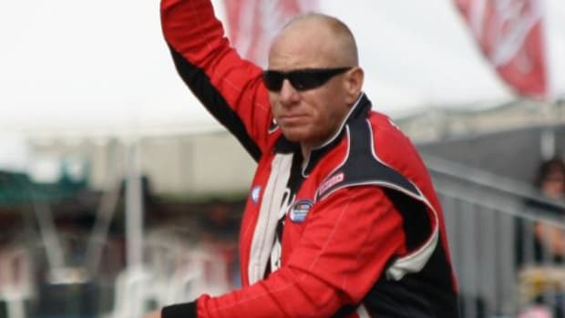 Derek White made headlines in 2015, when he became the first Native driver/owner to participate in a NASCAR race.