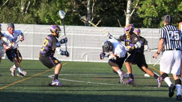 Iroquois Nationals players battled to the end despite losing 12-7 to Team USA in the U19 World Lacrosse Championships semi-finals on July 19 in Turku, Finland. The Nationals now play England for the Bronze medal on Saturday, July 21.