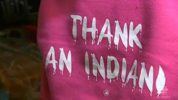The back of an unassuming, though magenta, hoodie that sparked a controversy far beyond the middle school where it was banned. These and other stories dominated the headlines of indigenous-related stories in Canada during 2014.