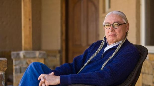 Walter Echo-Hawk is currently serving as the first Walter R. Echo-Hawk Distinguished Visiting Professor. He will teach two classes until April 2015 on the Portland, Oregon campus of Lewis & Clark Law School.