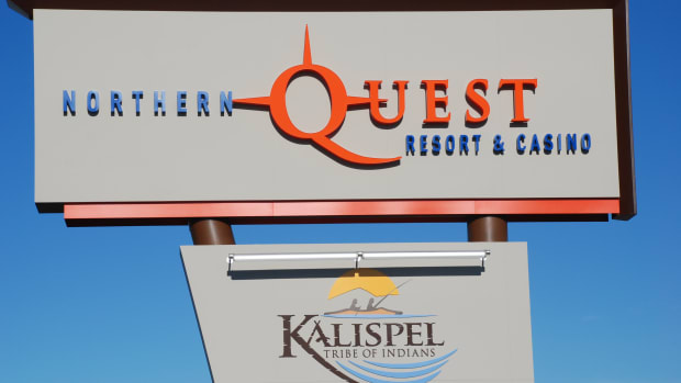 Kalispel Tribe, Northern Quest Sign