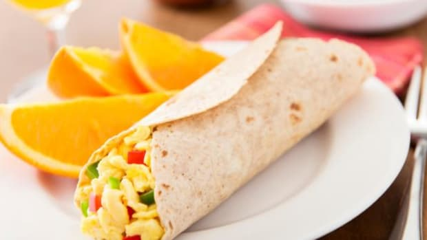 Put breakfast burritos on your holiday menu.