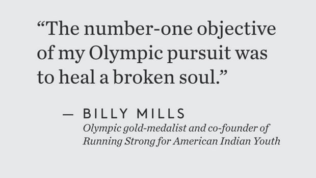 Billy Mills On Being Podcast