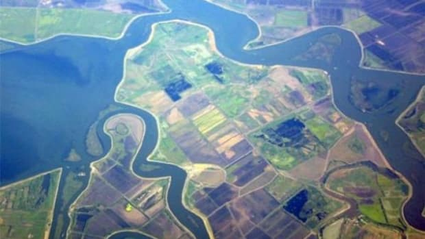 Sacramento-San Joaquin Delta, deemed the nation's most endangered water system