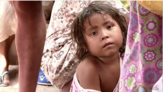 """Screen capture from the trailer of """"The River That They Stole,"""" a documentary by Colombian investigative journalist Gonzalo Guillen."""