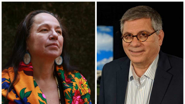 This Thursday morning, the Native American Journalists Association (NAJA) has selected Mary Annette Pember as the recipient of the 2018 NAJA-Medill Milestone Achievement Award and Mark Trahant as the recipient of the 2018 NAJA Richard LaCourse Award.
