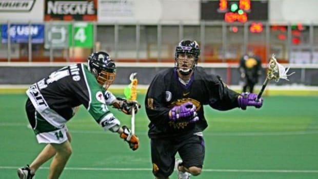 The 2015 Iroquois National Box Lacrosse Team