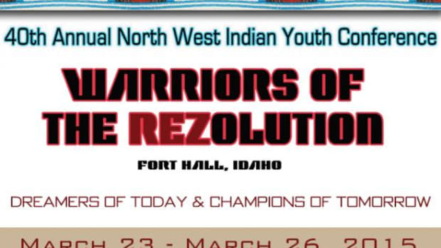 """The Shoshone-Bannock Tribes are hosting the 40th Annual Northwest Indian Youth Conference (NWIYC) with the theme, """"Dreamers of Today & Champions of Tomorrow"""" on March 23-26, 2015."""