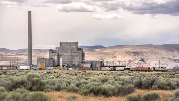 Hanford's historic B Reactor has been designated the Manhattan Project Historical National Park.