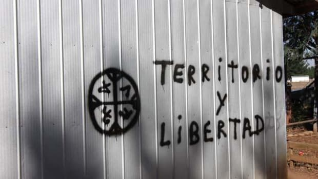 """""""Land and Freedom"""" for the Mapuche in Chile."""