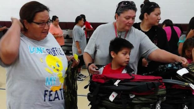 The Cheyenne River Youth Project hosted its annual School Supplies Drive distribution on August 20.