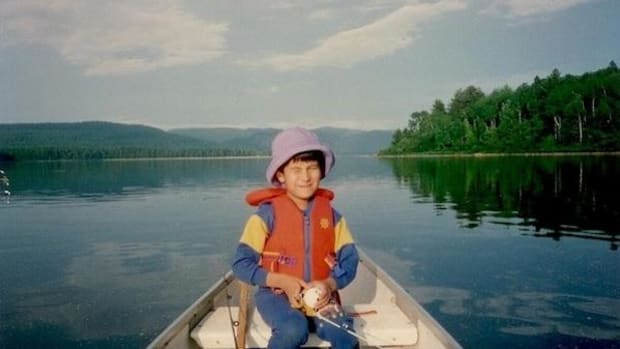 Young Ben Powless spent childhood weekends at the Six Nations of the Grand River reserve with his father after his parents divorced.