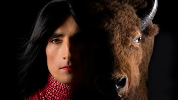 """The Rise and Fall of Civilization"" at imagineNATIVE by artist Kent Monkman"