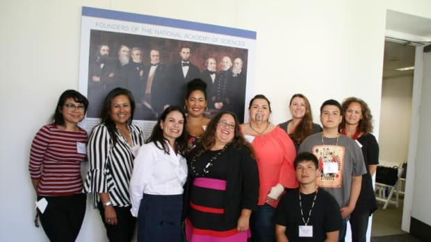 The panel that spoke at California's annual H2O conference, the first time Native voices have been heard from directly in the water conference's 14-year history.
