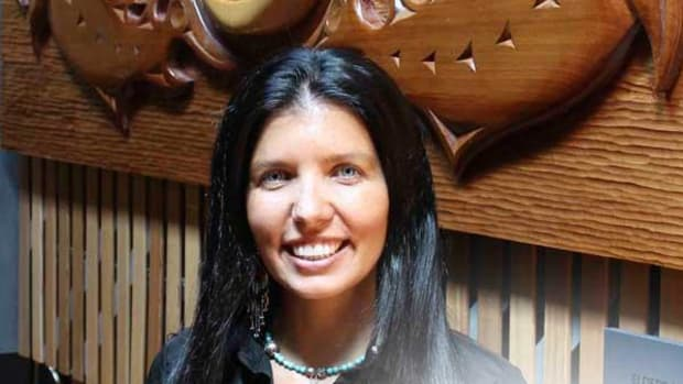 Recruited from Ontario to teach about aboriginal justice issues, Lisa Monchalin is working to expand that mandate to community and cultural issues.