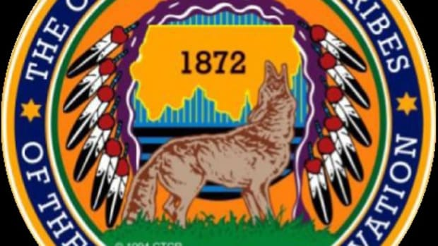 Confederated Tribes of the Colville Seal.