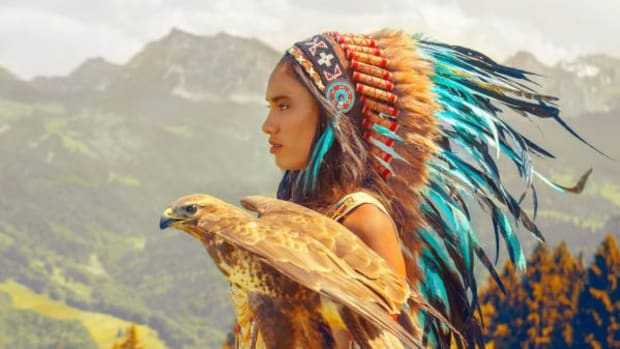 "Novum Crafts, according to its website, is a group of indigenous artists from Bali who make and sell ""authentic looking replicas"" of Native American headdresses, or war bonnets, which sell from $69 to $139."