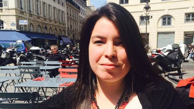 Natasha Kanapé Fontaine, Innu, was born in 1991 and is already a celebrated poet.