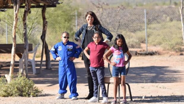 Pascua Yaqui, Native American students, STEM, Native American education, NASA, Space Camp, Pascua Yaqui students
