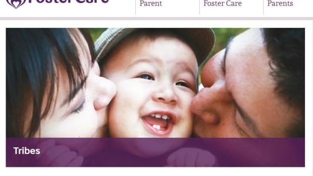 A screen capture of the Utah Foster Care web page dedicated to Native families.