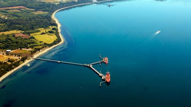 """Known as """"home to the Ancient Ones,"""" Cherry Point in Washington state is home to a stable fishing ecosystem that supports the Lummi Nation, and has become a recent point of interest for a Coal export for the Crow Nation."""