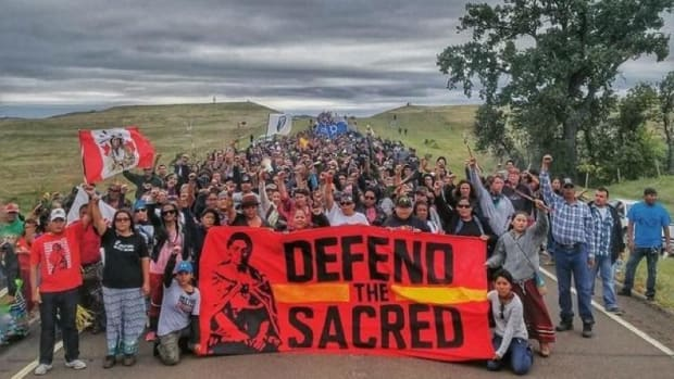 The Standing Rock Tribe and the water protectors spent months in a standoff against Energy Transfer Partners over the Dakota Access Pipeline (DAPL).