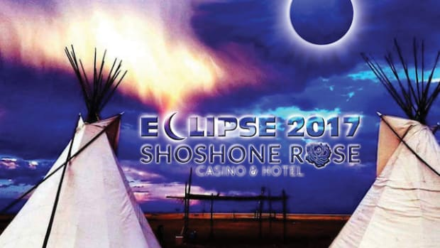 Shoshone Rose Casino and Eastern Shoshone tribal members are guiding people to viewing sites in the Wind River Mountains.