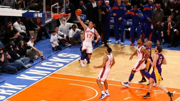 Jeremy Lin scored 38 points in the Knicks win over the Lakers
