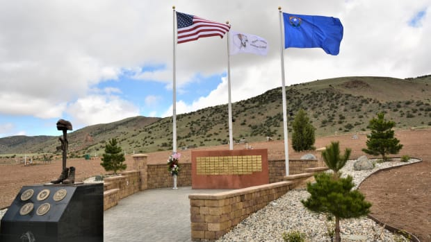 The names of 96 deceased Reno-Sparks Indian Colony Native Veterans were unveiled on Memorial Day in the tribe's cemetery.
