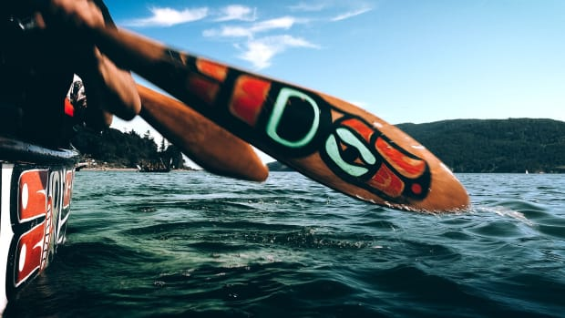 Paddle to Lummi - Jon Carroll 01, Lummi Nation