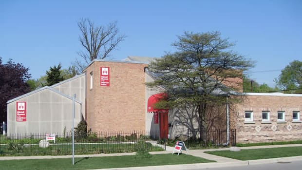 Pictured: The Mitchell Museum of the American Indian.